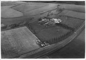 Bird's eye view of Chester Farm